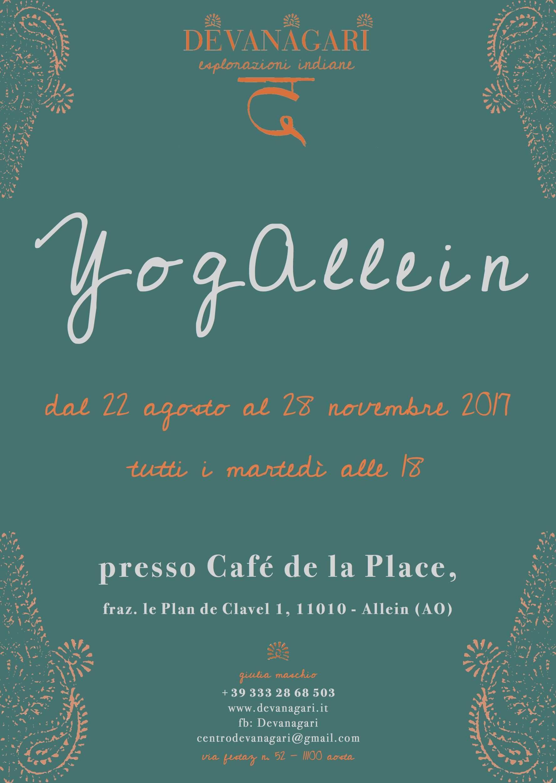 Corso Yoga Allein - Devanagari - Centro Yoga Aosta