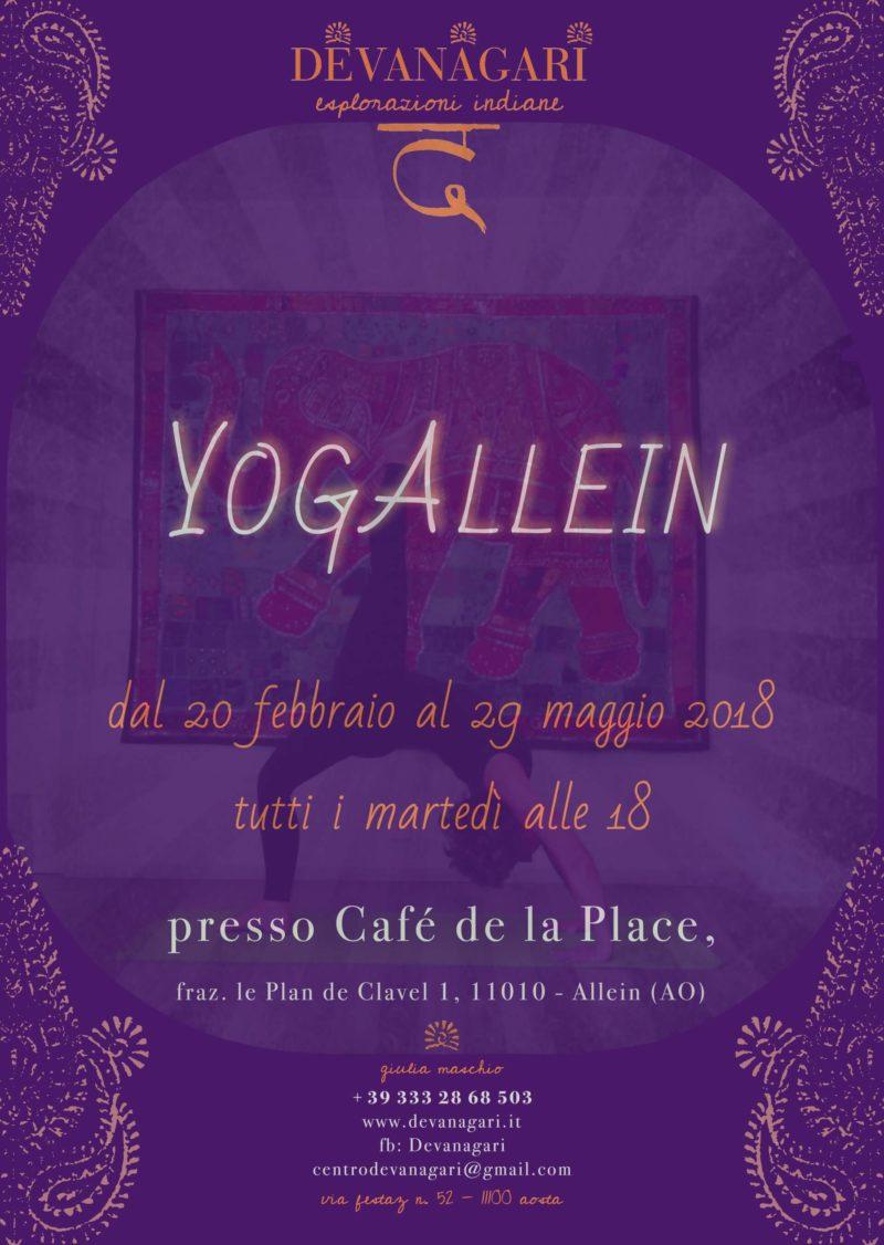 Yoga Allein - Devanagari - Centro Yoga Aosta