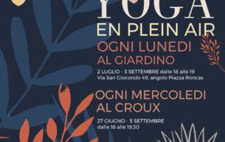 Yoga en plein air- Devanagari - Centro Yoga Aosta